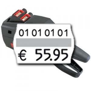 zweizeilige Preisauszeichnung