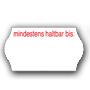 Etiketten mhd - Etiketten für Mindesthaltbarkeitsdtum